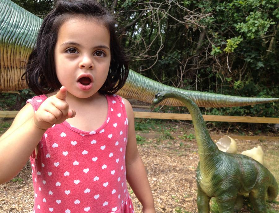 My daughter loves dinosaurs